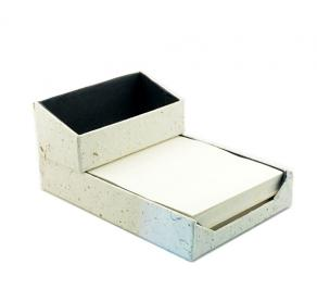 PAPER DISPENSER WITH VISITING CARD HOLDER